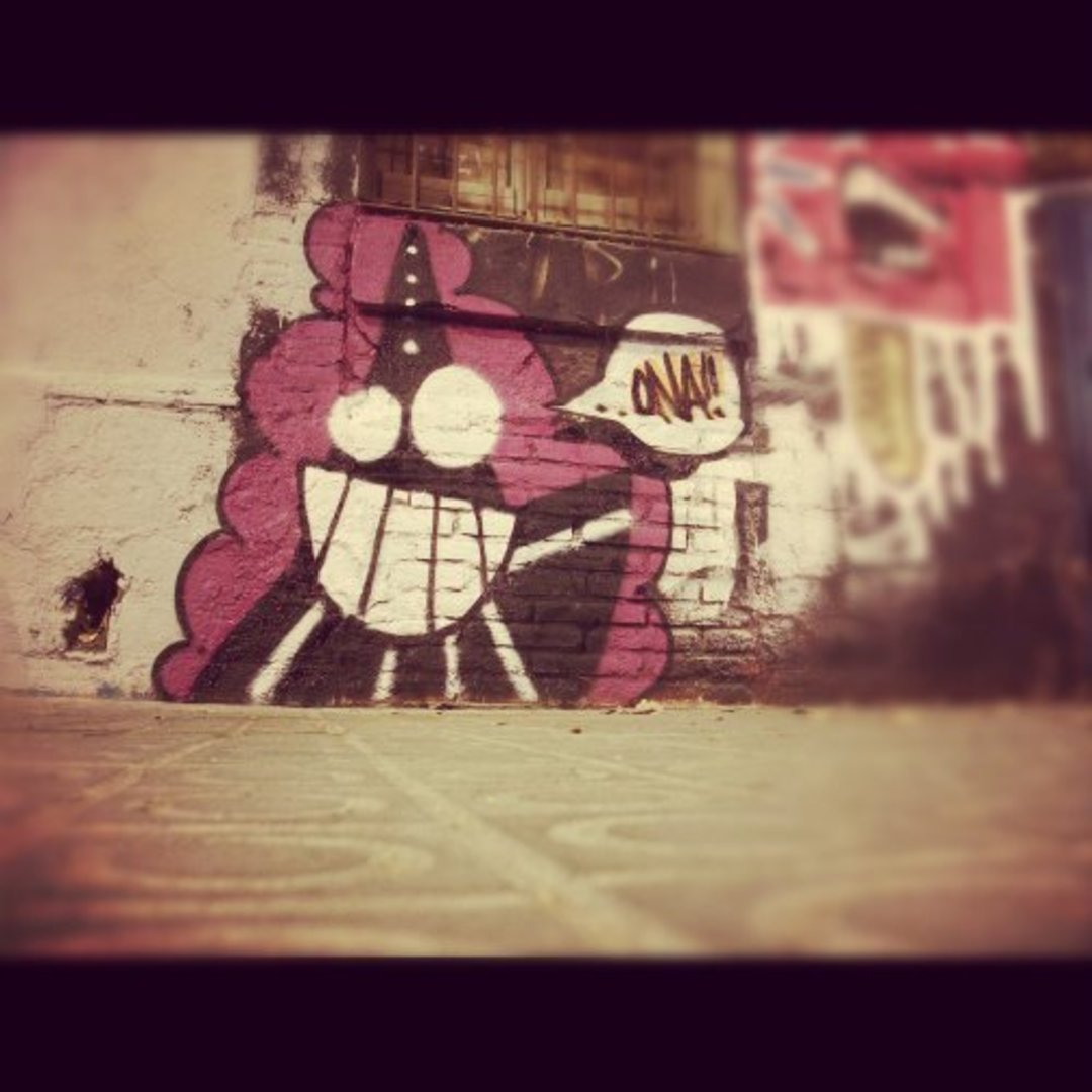Wallspot - ONA -  - Barcelona - Western Town - Graffity - Legal Walls - Illustration, Others