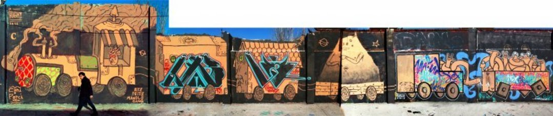 Wallspot - El Rughi -  - Barcelona - Agricultura - Graffity - Legal Walls - Illustration