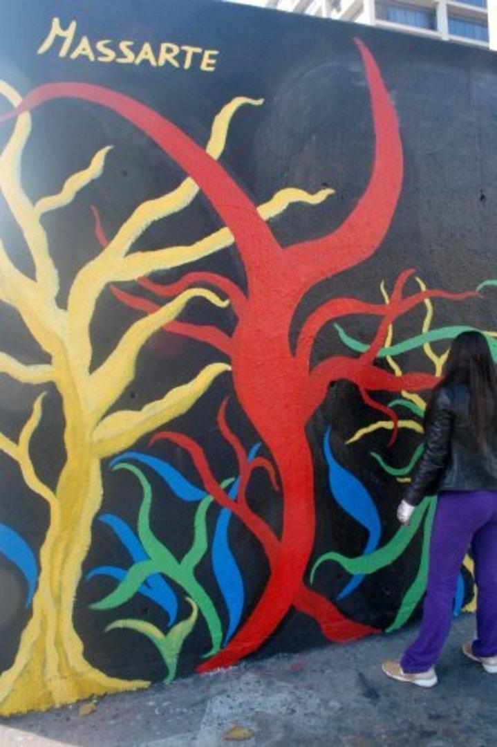 Wallspot - Catia Massa -  - Barcelona - Tres Xemeneies - Graffity - Legal Walls - Illustration, Others