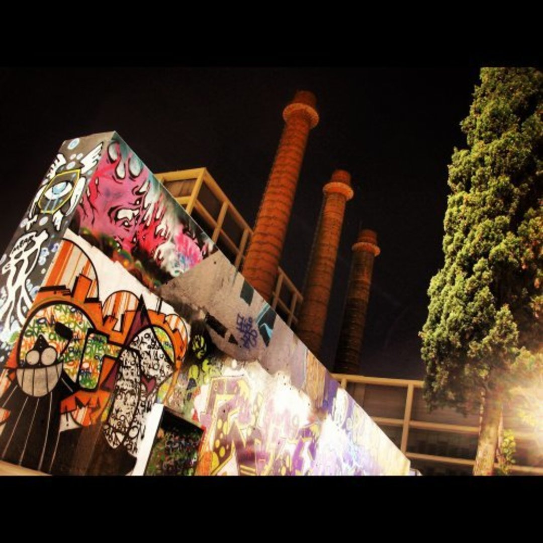 Wallspot - ONA -  - Barcelona - Tres Xemeneies - Graffity - Legal Walls - , ,