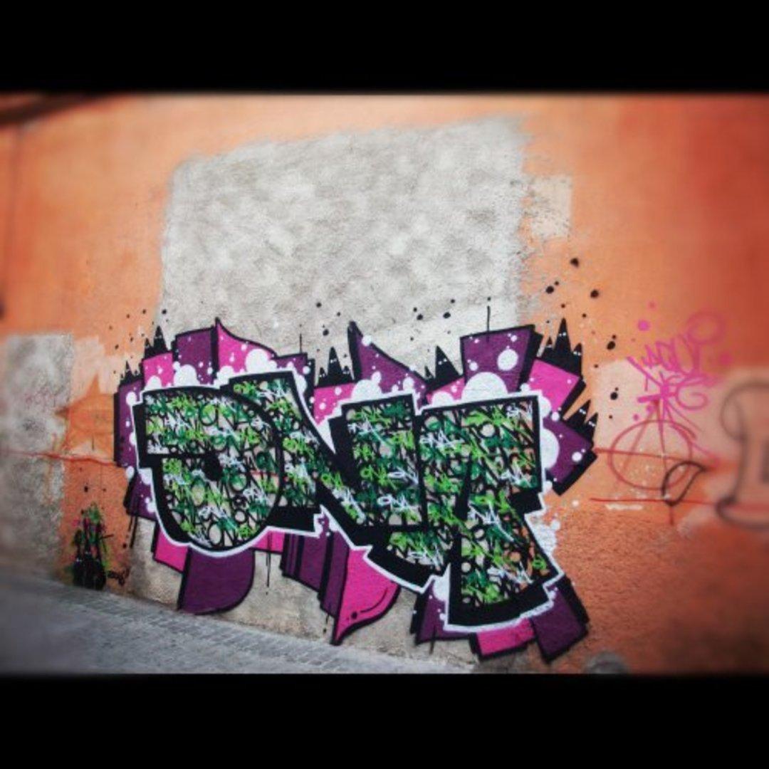 Wallspot - ONA -  - Barberà del Vallès - Carretera Barcelona - Graffity - Legal Walls - Lletres, Il·lustració, Altres
