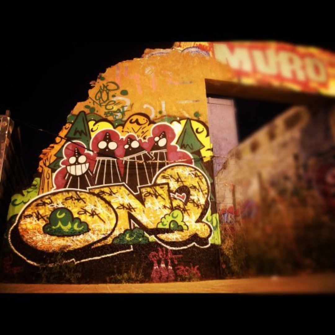 Wallspot - ONA -  - Barcelona - Western Town - Graffity - Legal Walls - Letters, Illustration, Others