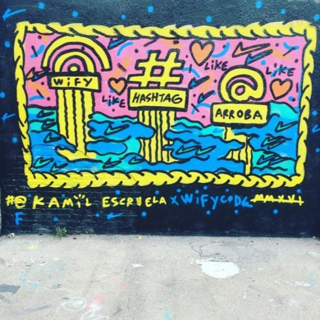 Wallspot - kamil escruela - my facebok - Barcelona - Agricultura - Graffity - Legal Walls - Letters, Illustration, Others