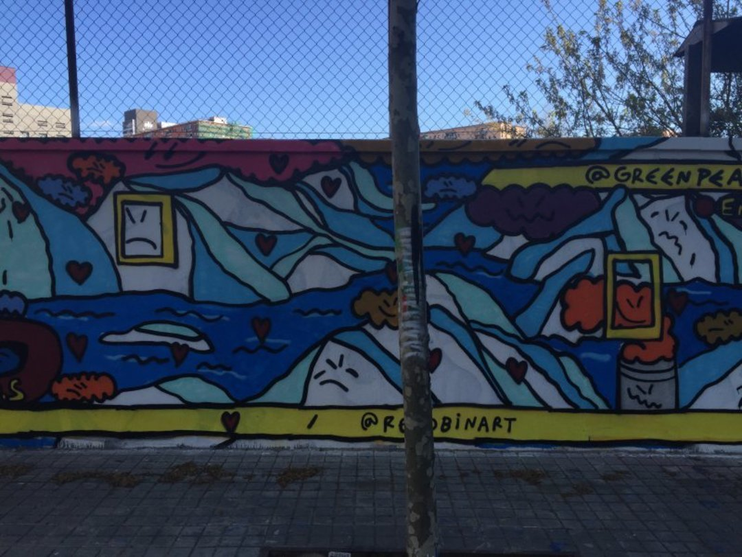 Wallspot - kamil escruela - lacostisss - Barcelona - Agricultura - Graffity - Legal Walls - Lletres, Il·lustració, Stencil, Altres