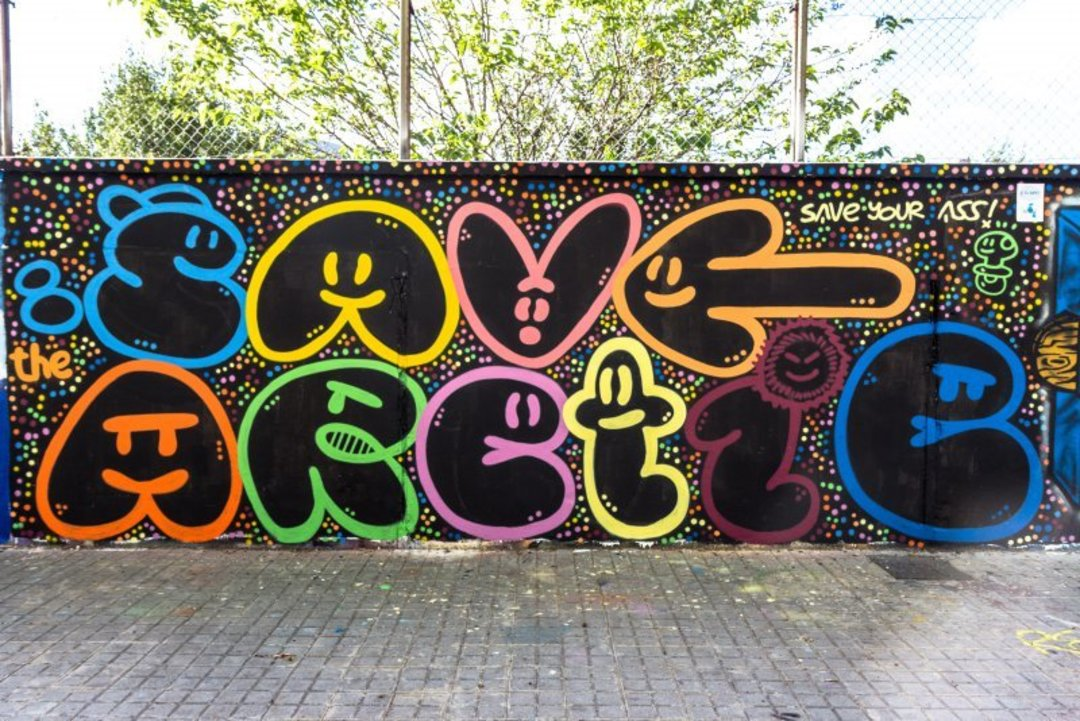 Wallspot - xupet -  - Barcelona - Agricultura - Graffity - Legal Walls - Letters, Illustration, Others