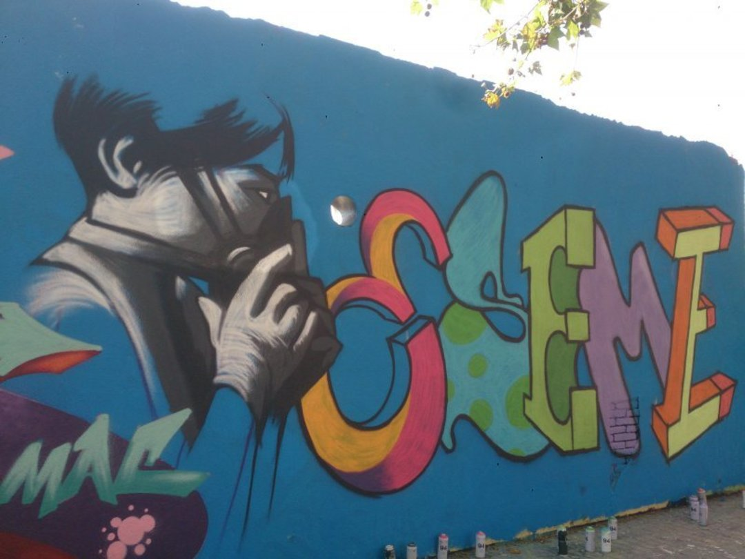Wallspot - SM 172 -  - Barcelona - Agricultura - Graffity - Legal Walls - Illustration