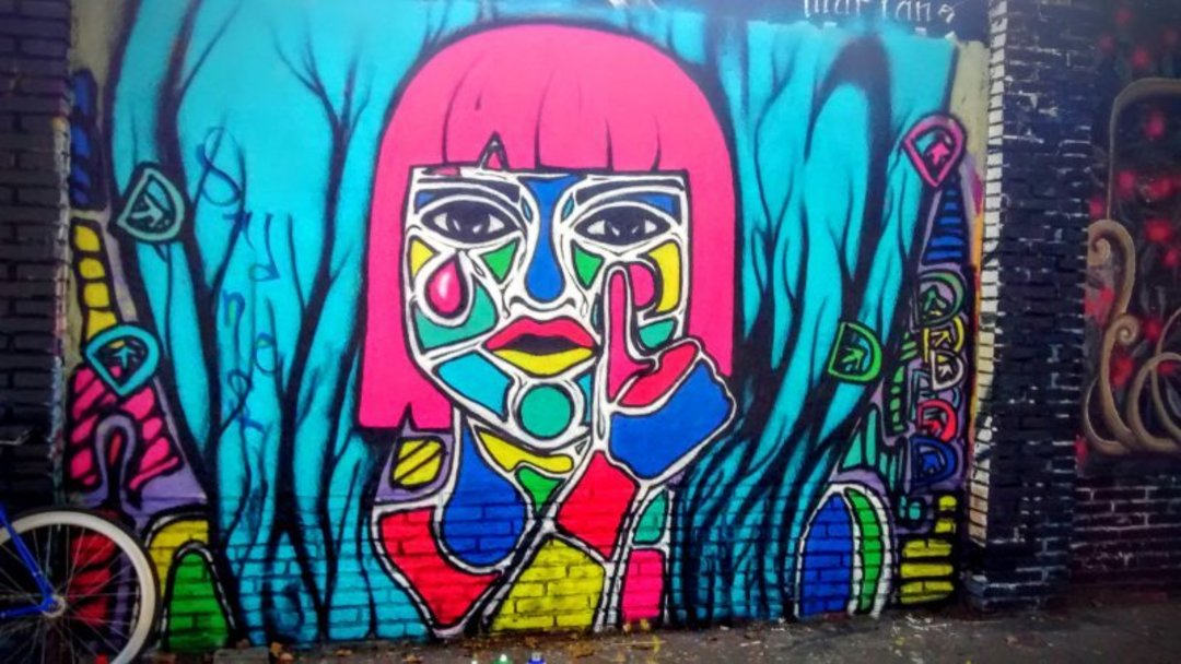 Wallspot - DALA @daliladuartedrd -  - Barcelona - Selva de Mar - Graffity - Legal Walls - Illustration