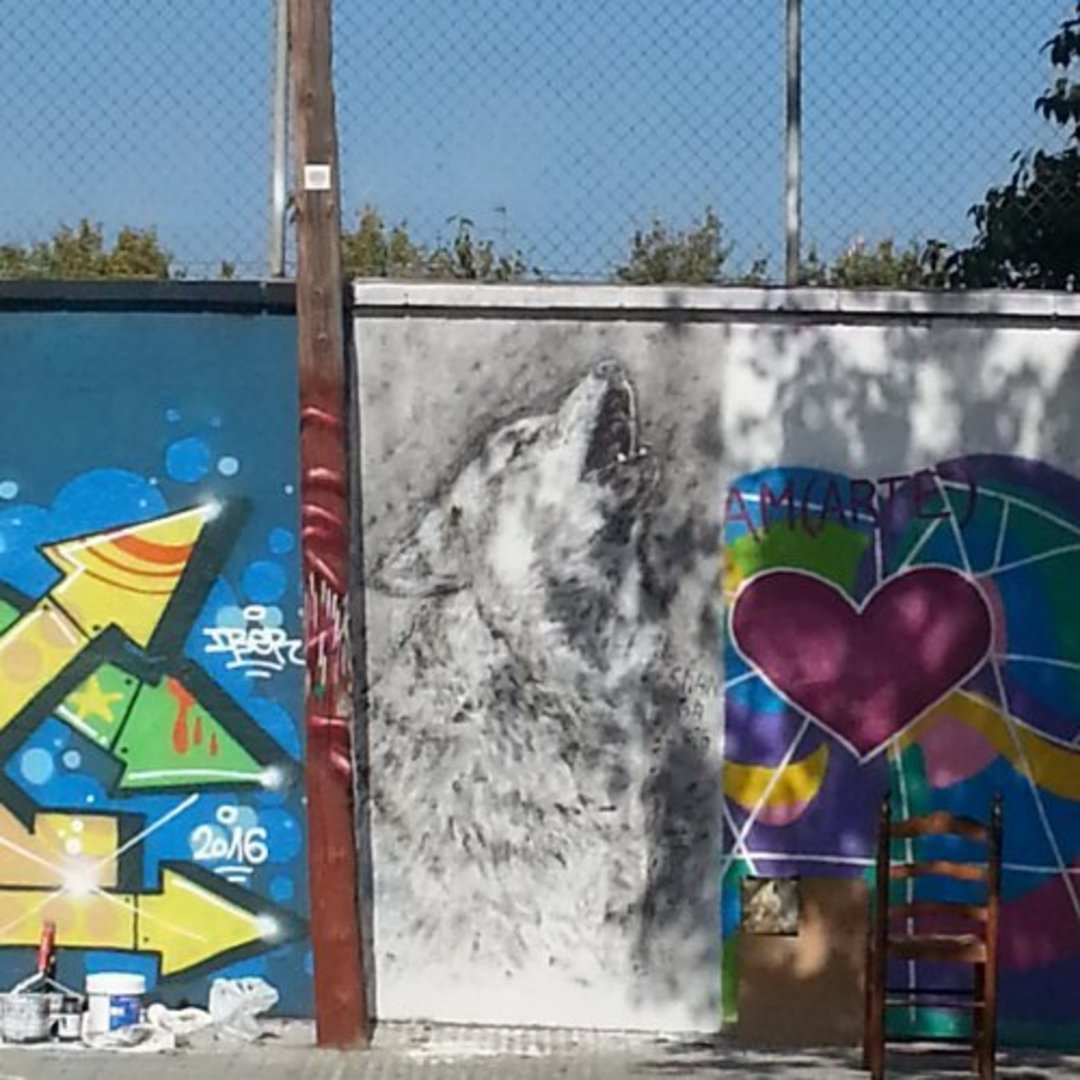 Wallspot - Shanga -  - Barcelona - Agricultura - Graffity - Legal Walls -