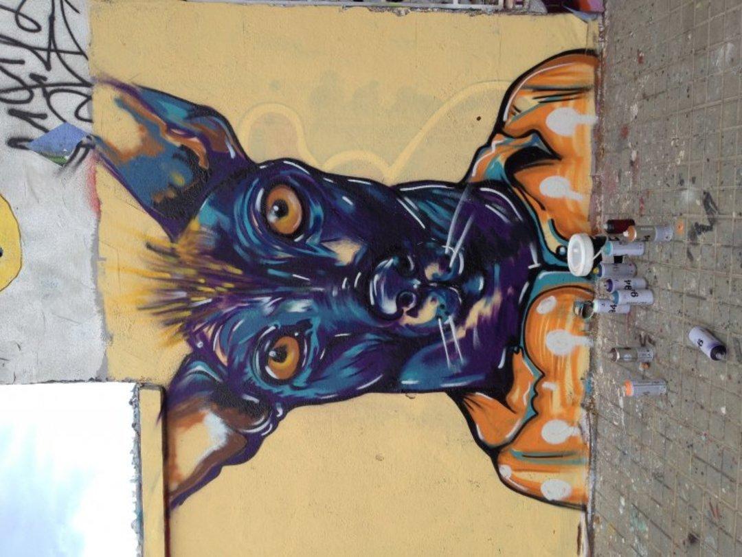 Wallspot - MEGUI - Agricultura - MEGUI - Barcelona - Agricultura - Graffity - Legal Walls - Lletres, Il·lustració, Stencil, Altres