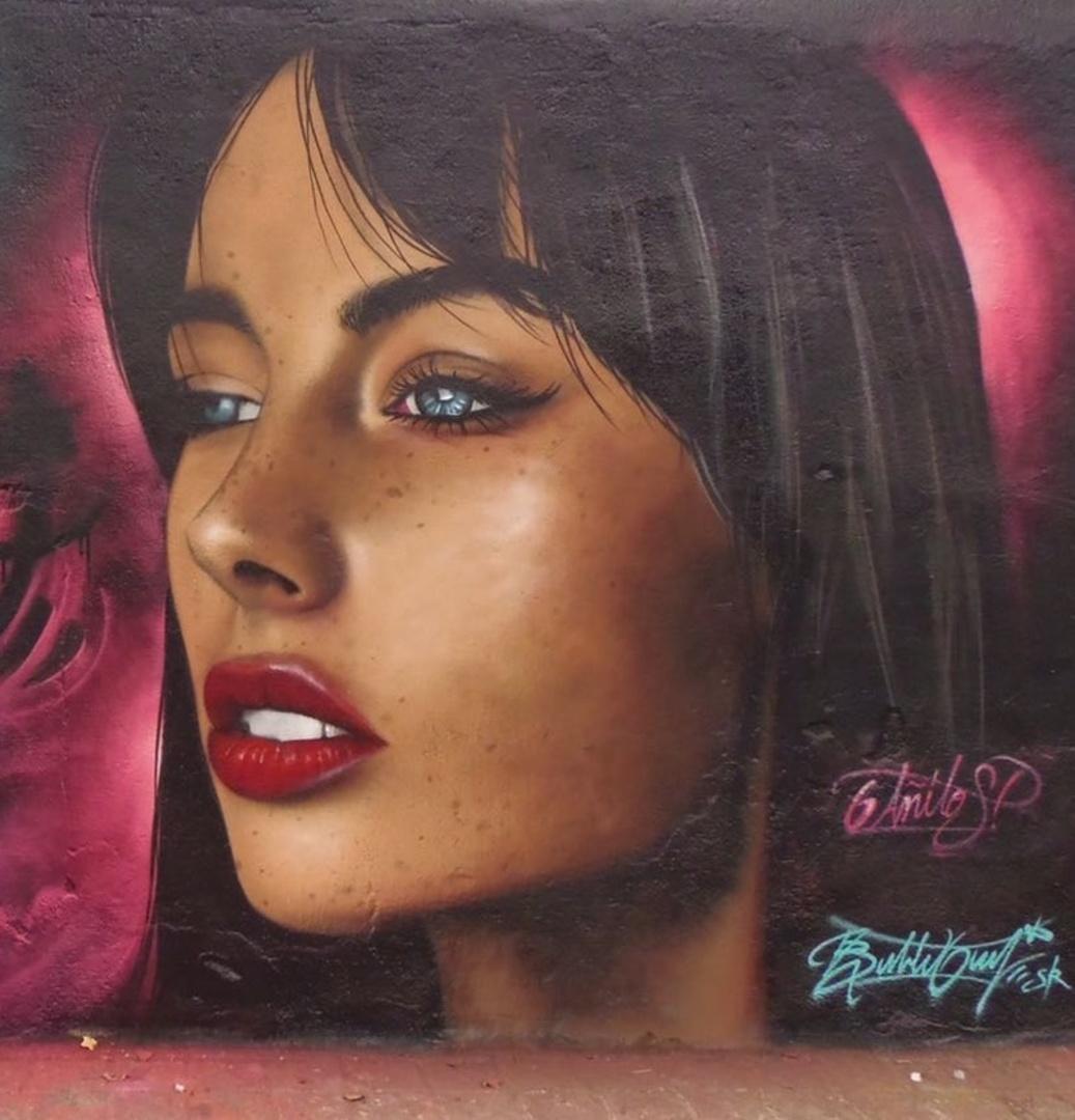 Wallspot - Bublegum - selva de mar - Barcelona - Selva de Mar - Graffity - Legal Walls - Il·lustració