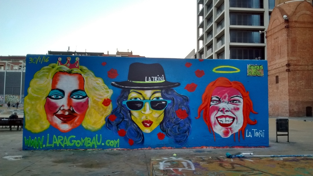 Wallspot - araL -  - Barcelona - Tres Xemeneies - Graffity - Legal Walls -