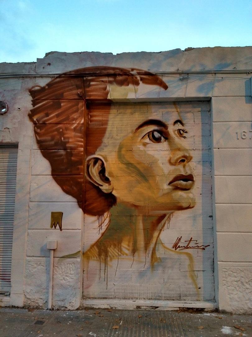 Wallspot - evalop - ManuManu - Barcelona - Western Town - Graffity - Legal Walls - Ilustración - Artist - elmanu