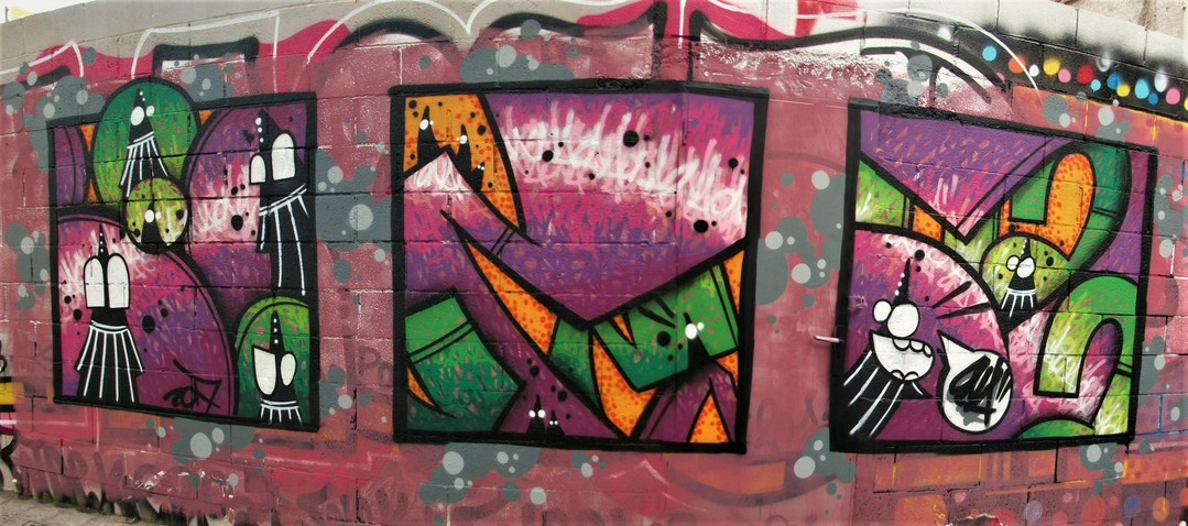 Wallspot - ONA - Poble Nou - ONA - Barcelona - Poble Nou - Graffity - Legal Walls -