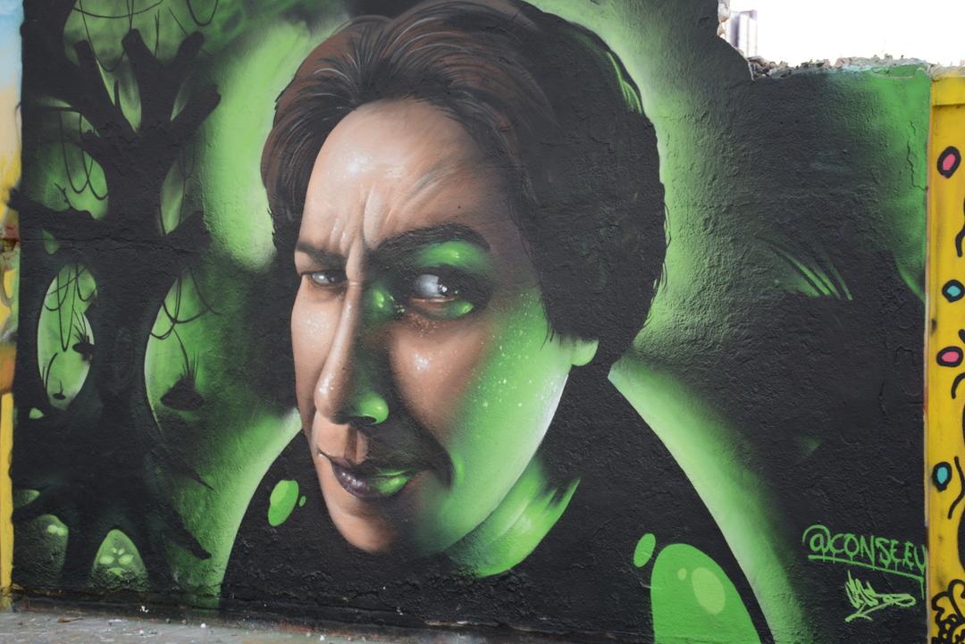 Wallspot - Lluís Olivé - CONSE. carrer de Veneçuela - Barcelona - Agricultura - Graffity - Legal Walls - Illustration