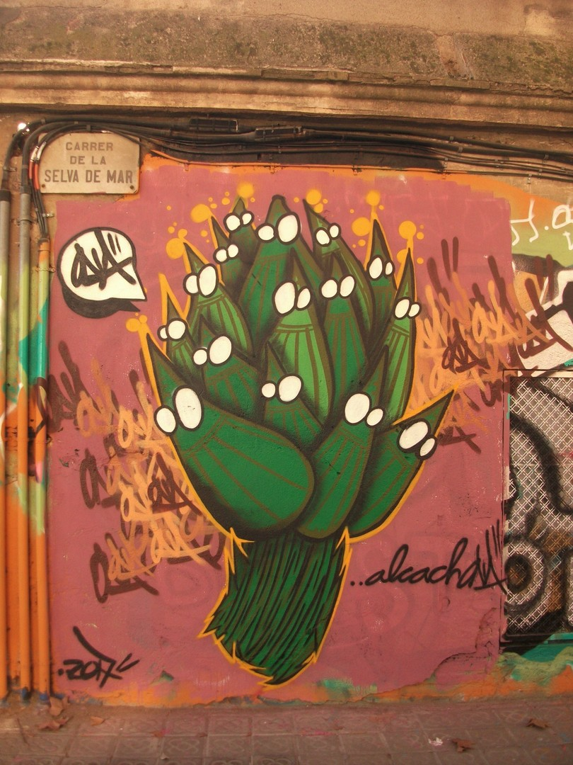 Wallspot - ONA - Selva de Mar - ONA - Barcelona - Selva de Mar - Graffity - Legal Walls - Illustration, Others