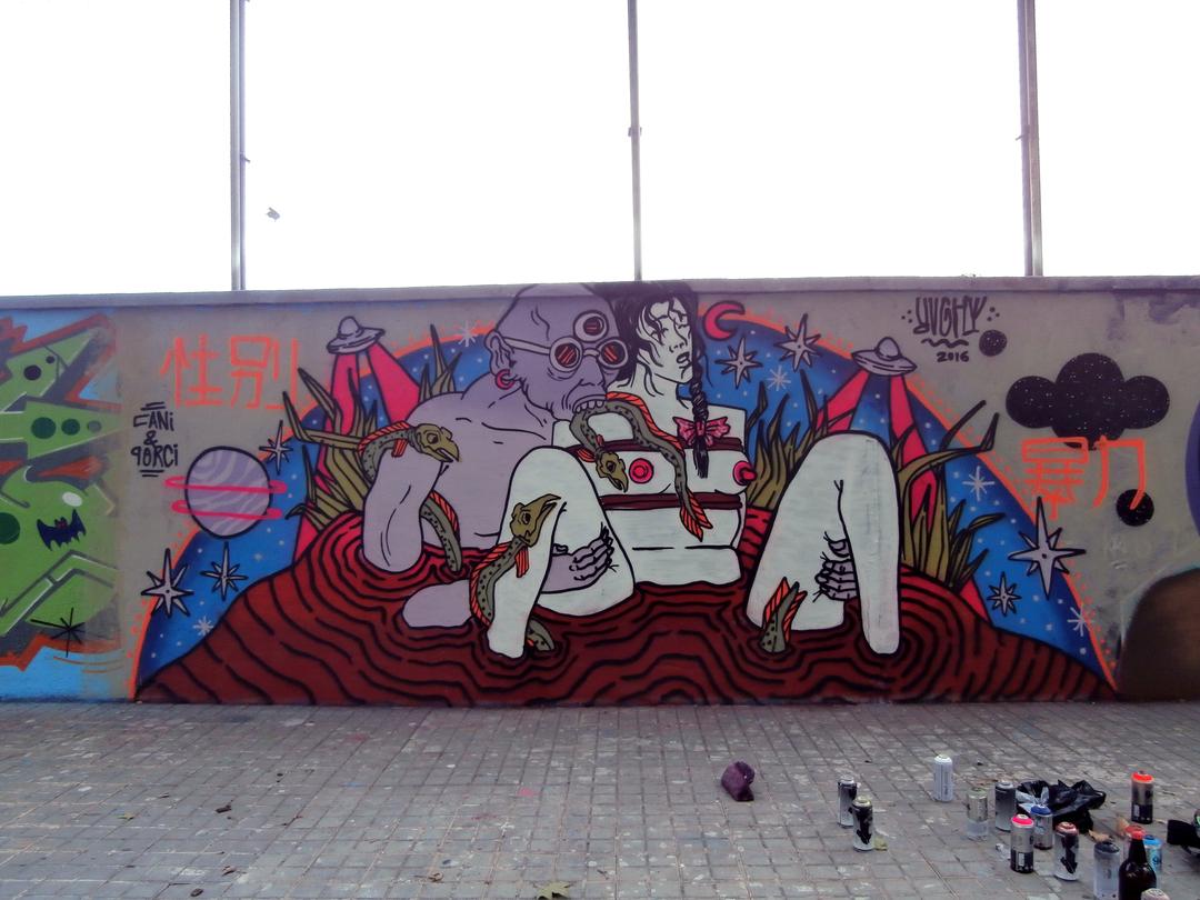 Wallspot - El Rughi - Agricultura - rughi - Barcelona - Agricultura - Graffity - Legal Walls -