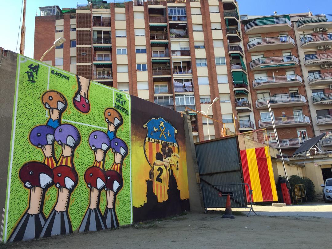 Wallspot - setabcn -  - Barcelona - UE Sant Andreu - Graffity - Legal Walls -
