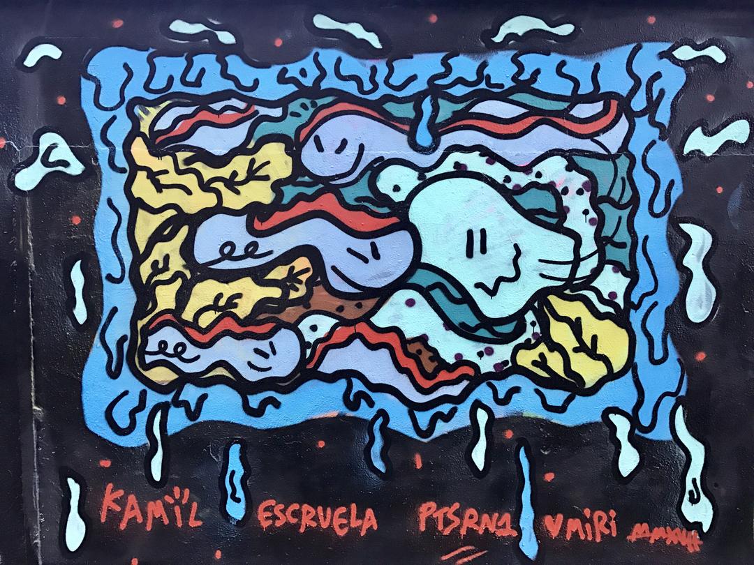 Wallspot - kamil escruela - prawww - Barcelona - Agricultura - Graffity - Legal Walls - Illustration, Others