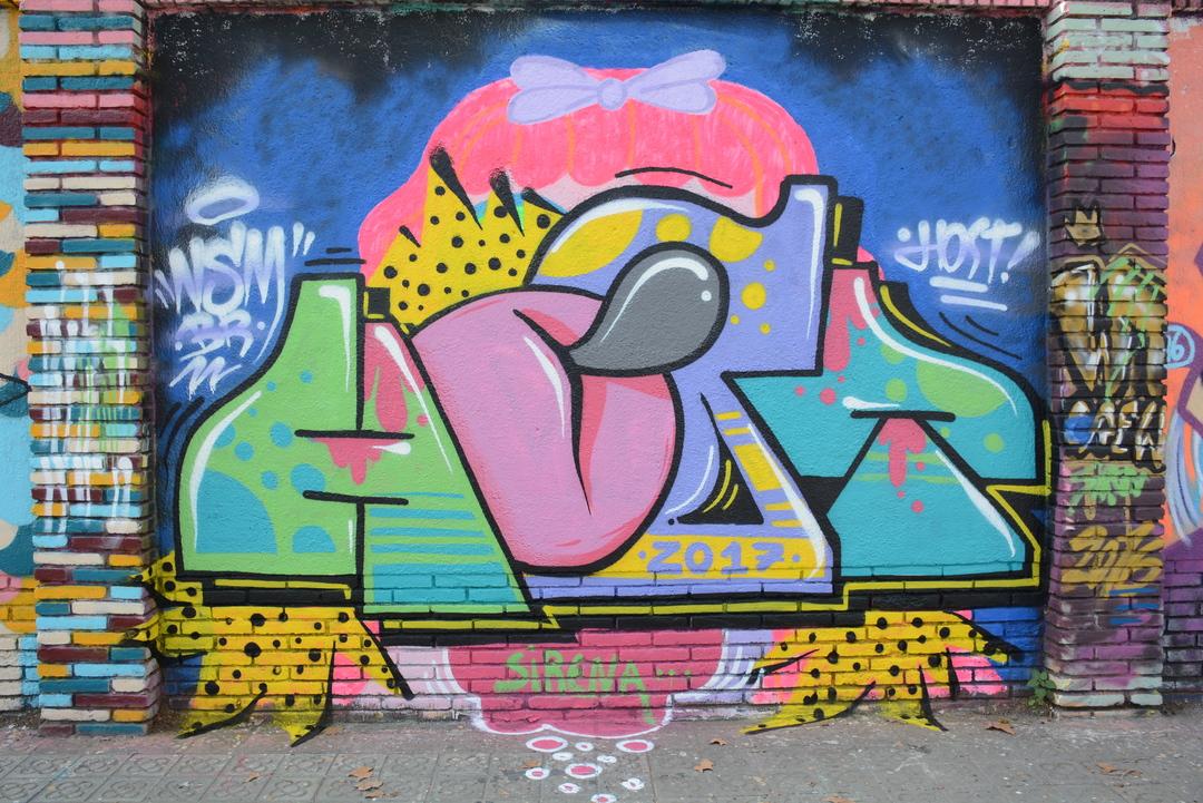 Wallspot - Lluís Olivé - LENNON GUERRERO - Barcelona - Selva de Mar - Graffity - Legal Walls - Letters - Artist - LennonGuerrero