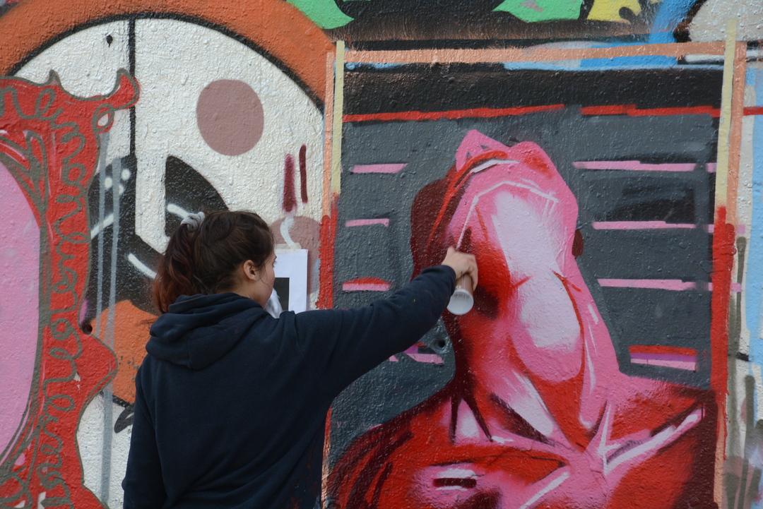 Wallspot - Lluís Olivé - LIMON A LA P3X - Barcelona - Tres Xemeneies - Graffity - Legal Walls - Illustration - Artist - limon