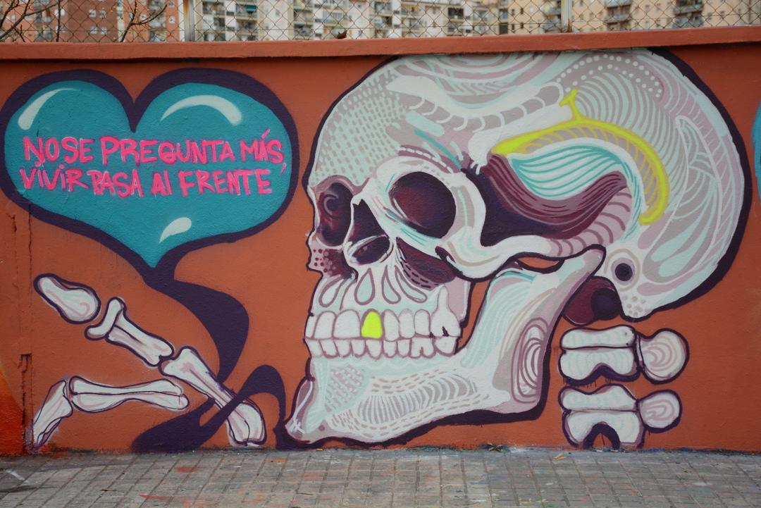 Wallspot - Lluís Olivé - YANETH RIVAS /// CARTEL DE CARACAS. - Barcelona - Agricultura - Graffity - Legal Walls - Illustration - Artist - Cartel de Caracas
