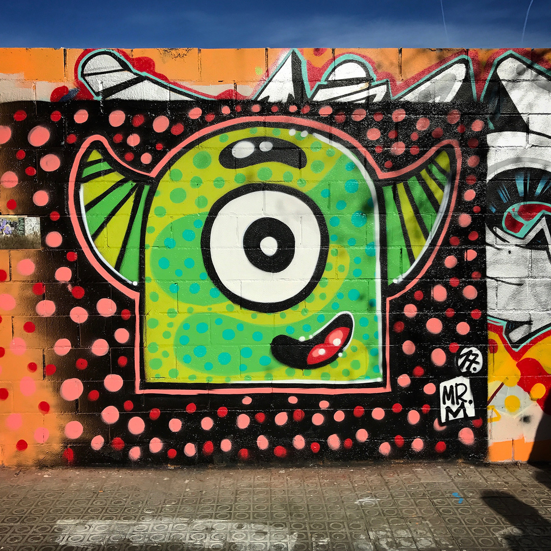 Wallspot - Mr.M - Poble Nou - Mr.M - Barcelona - Poble Nou - Graffity - Legal Walls -