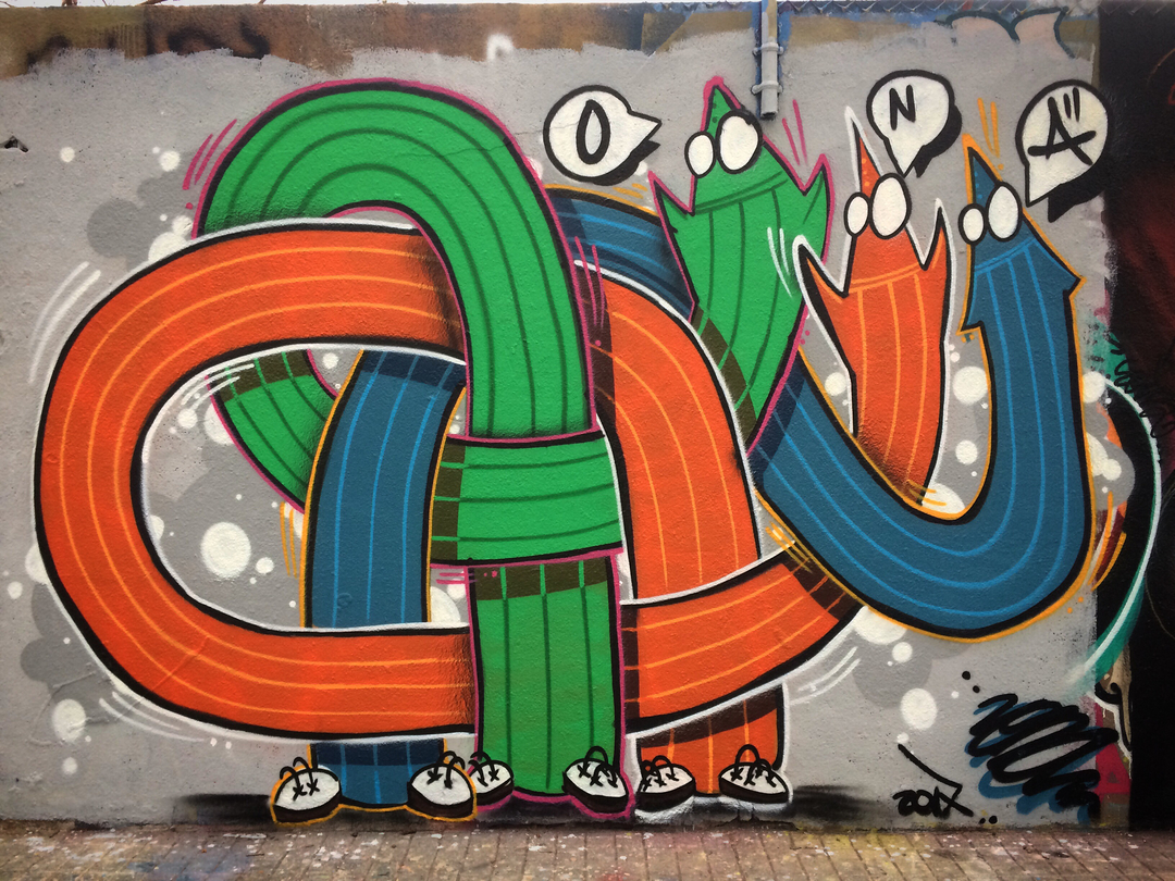 Wallspot - ONA -  - Barcelona - Agricultura - Graffity - Legal Walls -