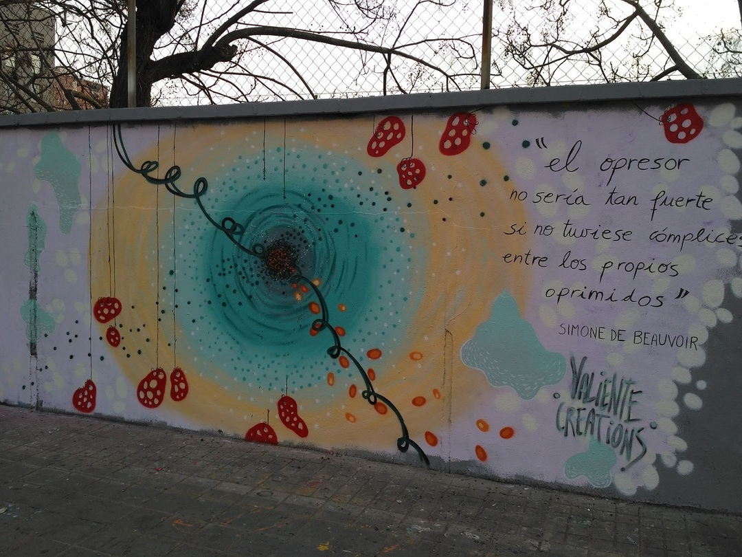 Wallspot - evalop - Les murs des femmes - Barcelona - Agricultura - Graffity - Legal Walls - Illustration - Artist - Valiente Creations