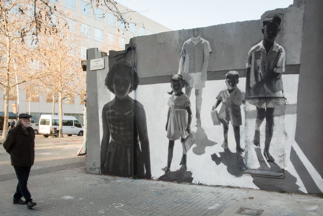 Wallspot - Miquel Wert - Agricultura - Miquel Wert - Barcelona - Agricultura - Graffity - Legal Walls - Illustration, Others