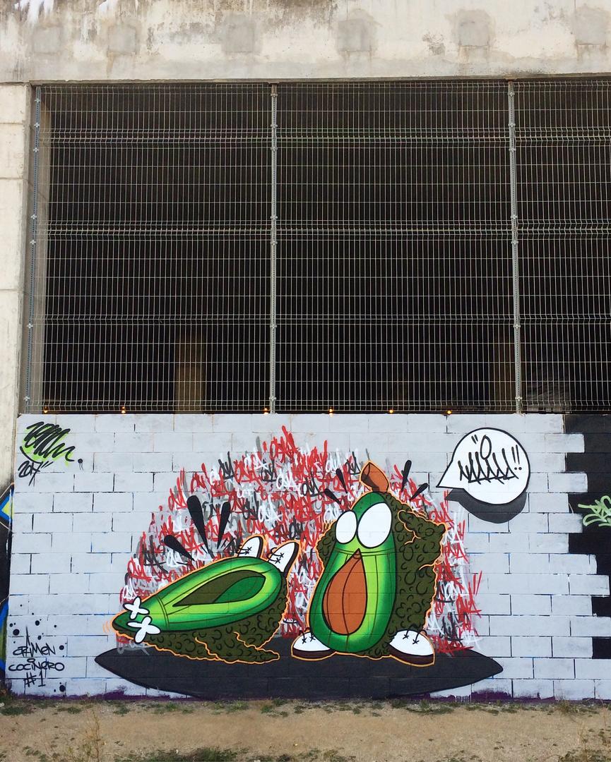 Wallspot - ONA -  - Barcelona - Forum Place - Graffity - Legal Walls -