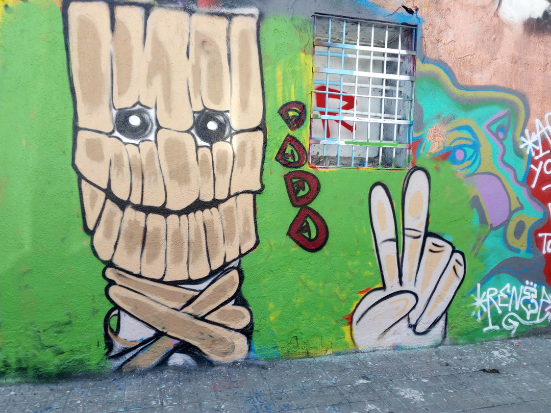 Wallspot - DALA @daliladuartedrd - Western Town - DALA - Barcelona - Western Town - Graffity - Legal Walls - Illustration