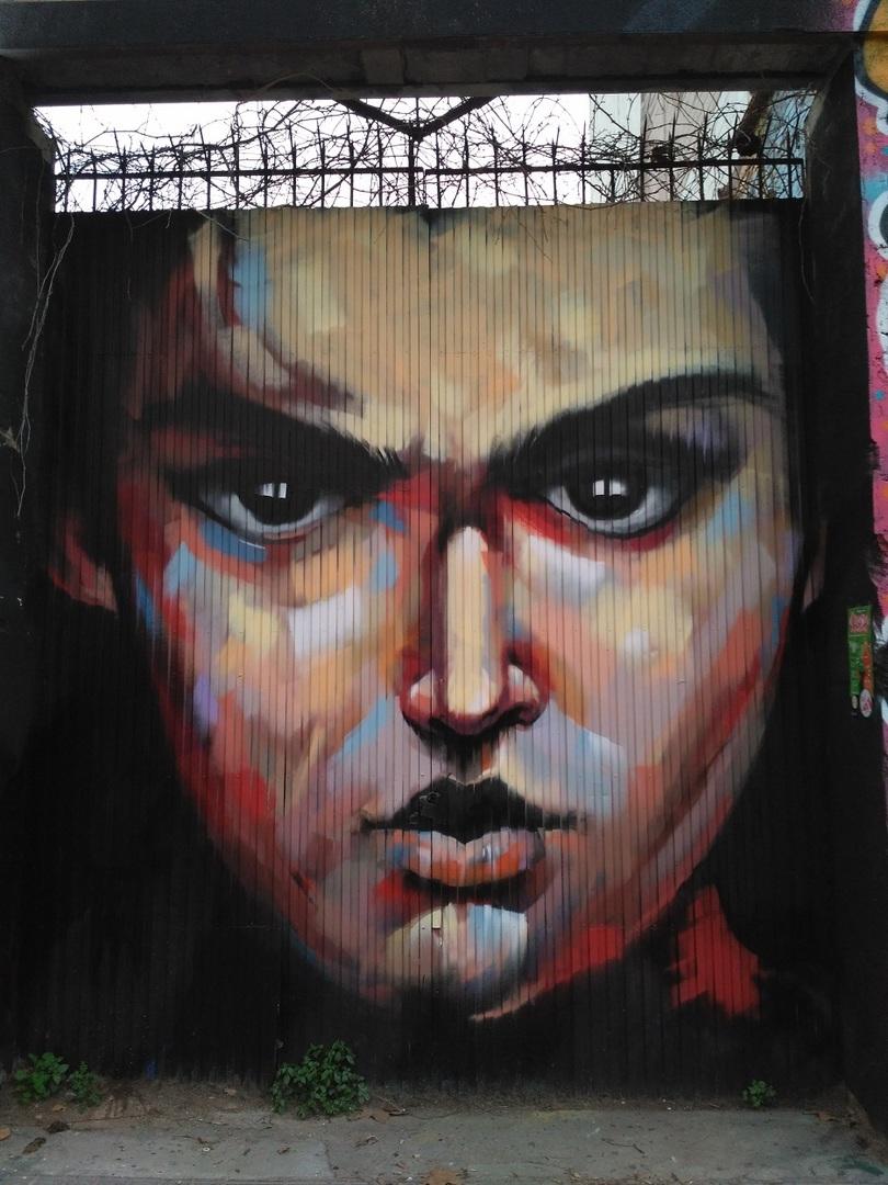 Wallspot - evalop - ManuManu - Barcelona - Western Town - Graffity - Legal Walls -  - Artist - elmanu