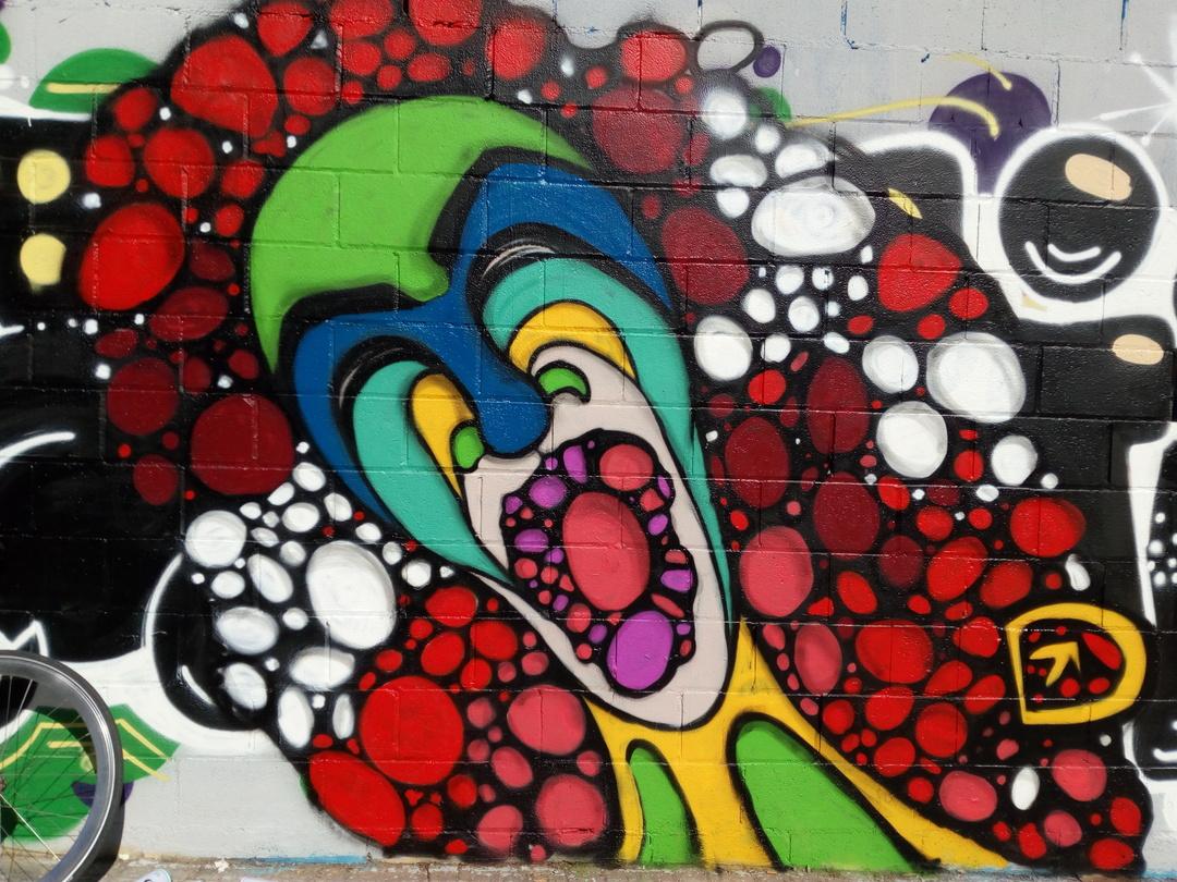 Wallspot - DALA @daliladuartedrd - Poble Nou - DALA - Barcelona - Poble Nou - Graffity - Legal Walls -