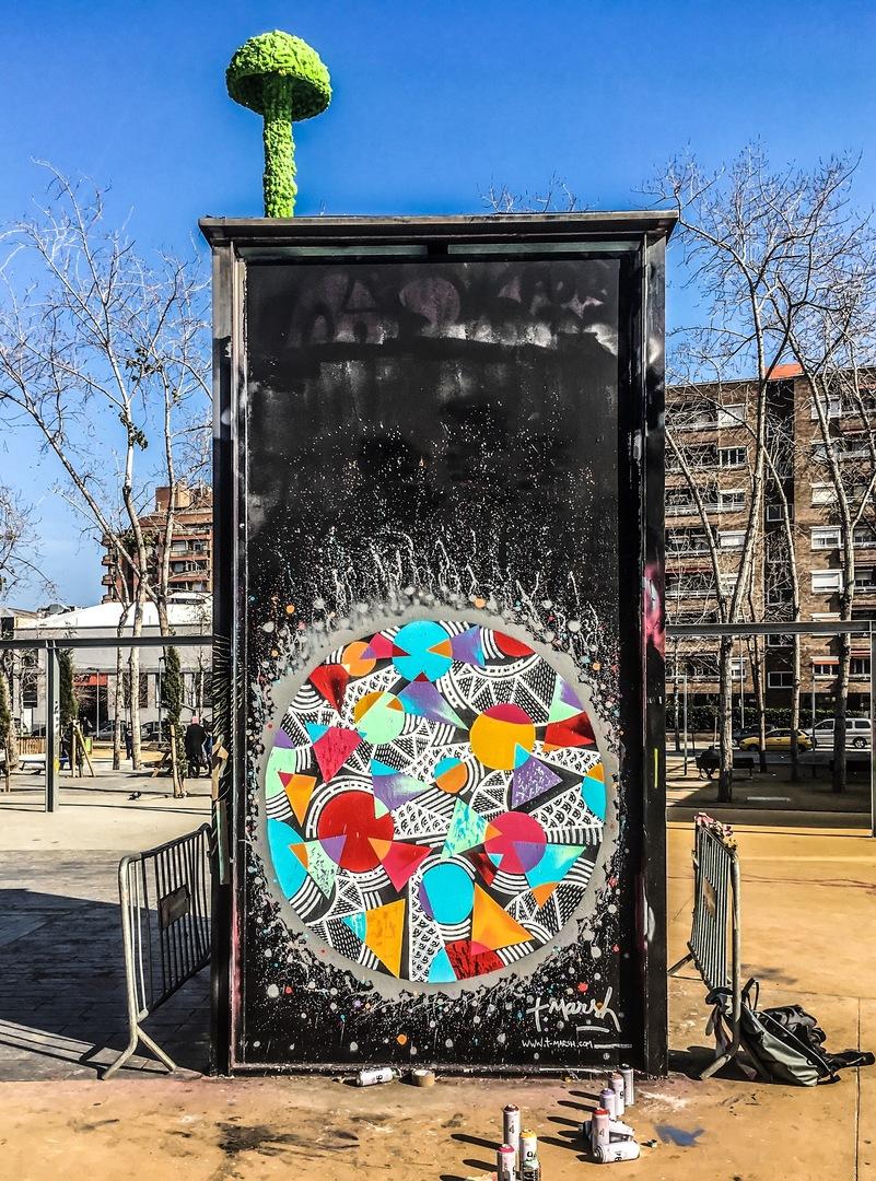 Wallspot - TimMarsh - Tres Xemeneies - TimMarsh - Barcelona - Tres Xemeneies - Graffity - Legal Walls - Others