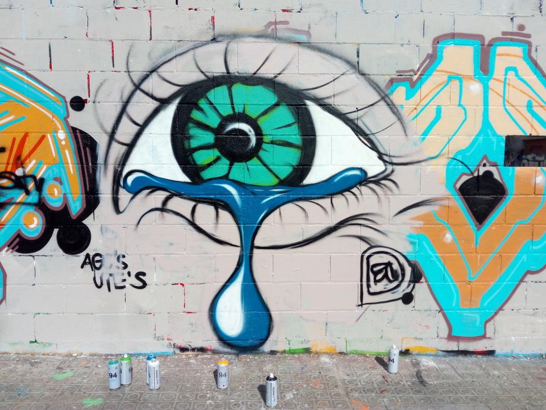 Wallspot - DALA @daliladuartedrd - Poble Nou - DALA - Barcelona - Poble Nou - Graffity - Legal Walls - Illustration