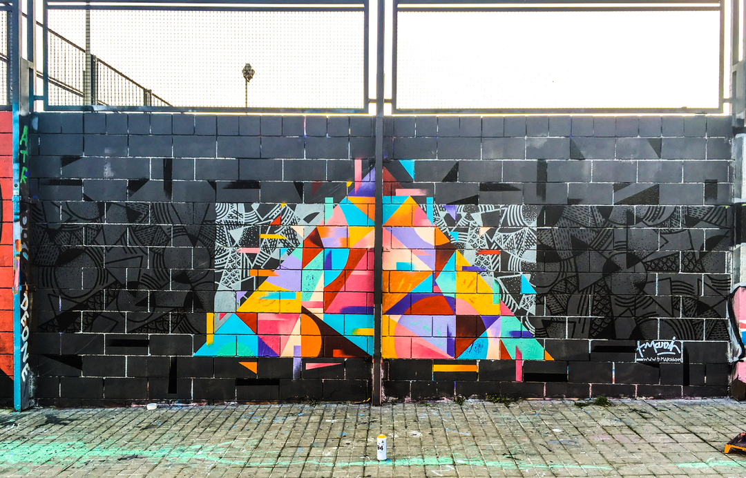 Wallspot - TimMarsh -  - Barcelona - Drassanes - Graffity - Legal Walls -