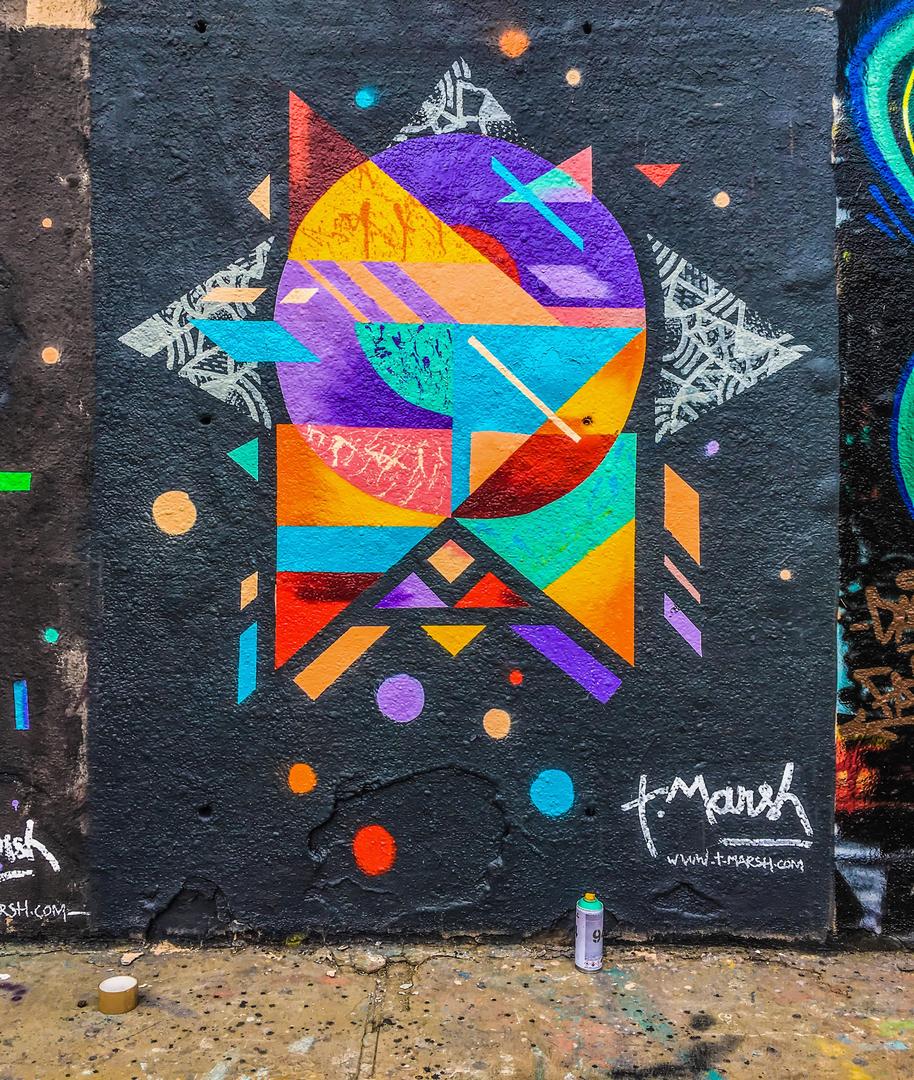 Wallspot - TimMarsh - Tres Xemeneies - TimMarsh - Barcelona - Tres Xemeneies - Graffity - Legal Walls -