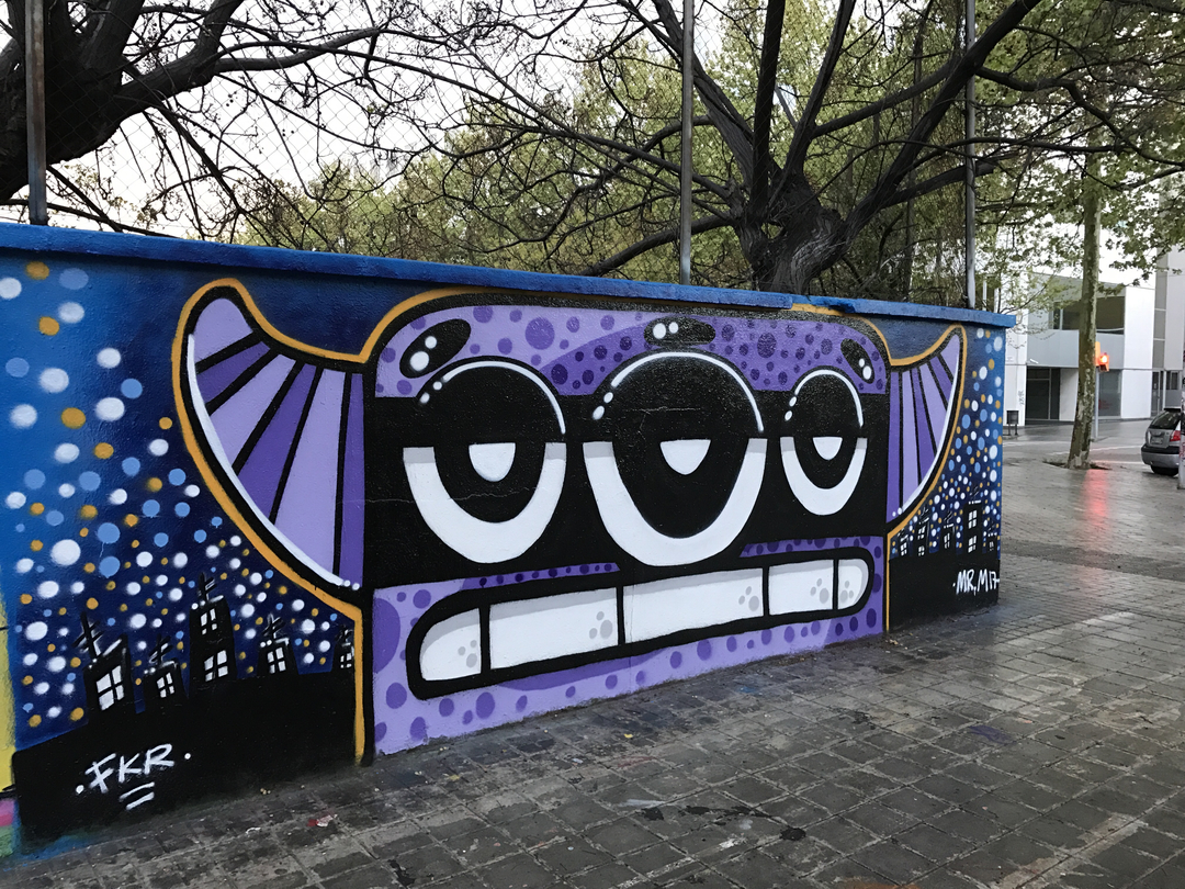 Wallspot - Mr.M -  - Barcelona - Agricultura - Graffity - Legal Walls -