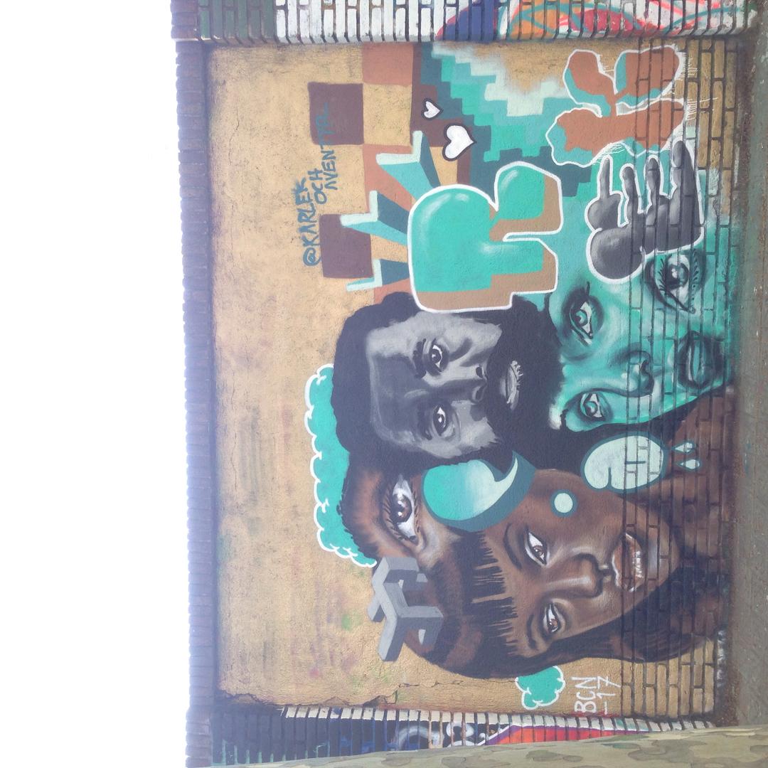 Wallspot - Kärlek och Äventyr -  - Barcelona - Selva de Mar - Graffity - Legal Walls -