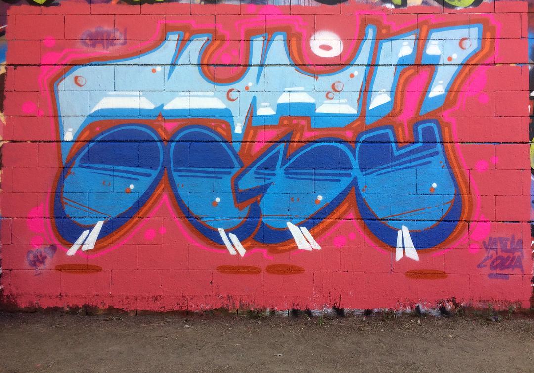 Wallspot - ca7u -  - Barcelona - Drassanes - Graffity - Legal Walls -