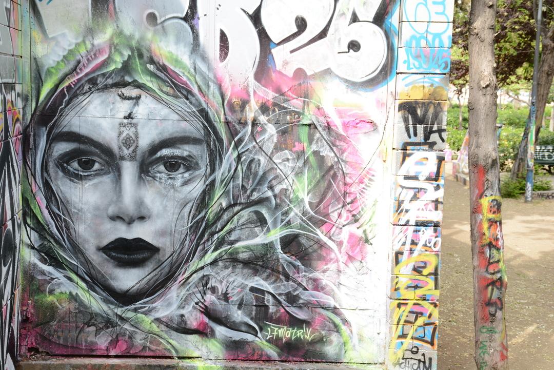 Wallspot - Lluís Olivé - L7MATRIX - Barcelona - Drassanes - Graffity - Legal Walls - Illustration - Artist - L7m