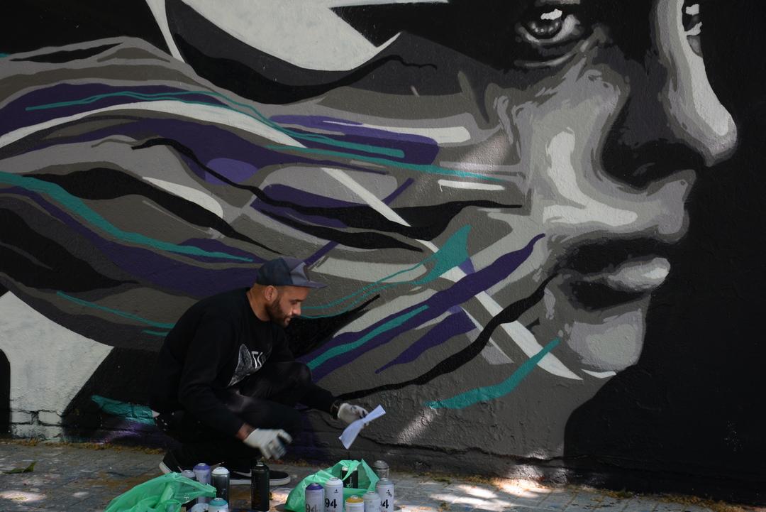 Wallspot - Lluís Olivé - SKRAM - Barcelona - Agricultura - Graffity - Legal Walls - Il·lustració - Artist - SKRAN