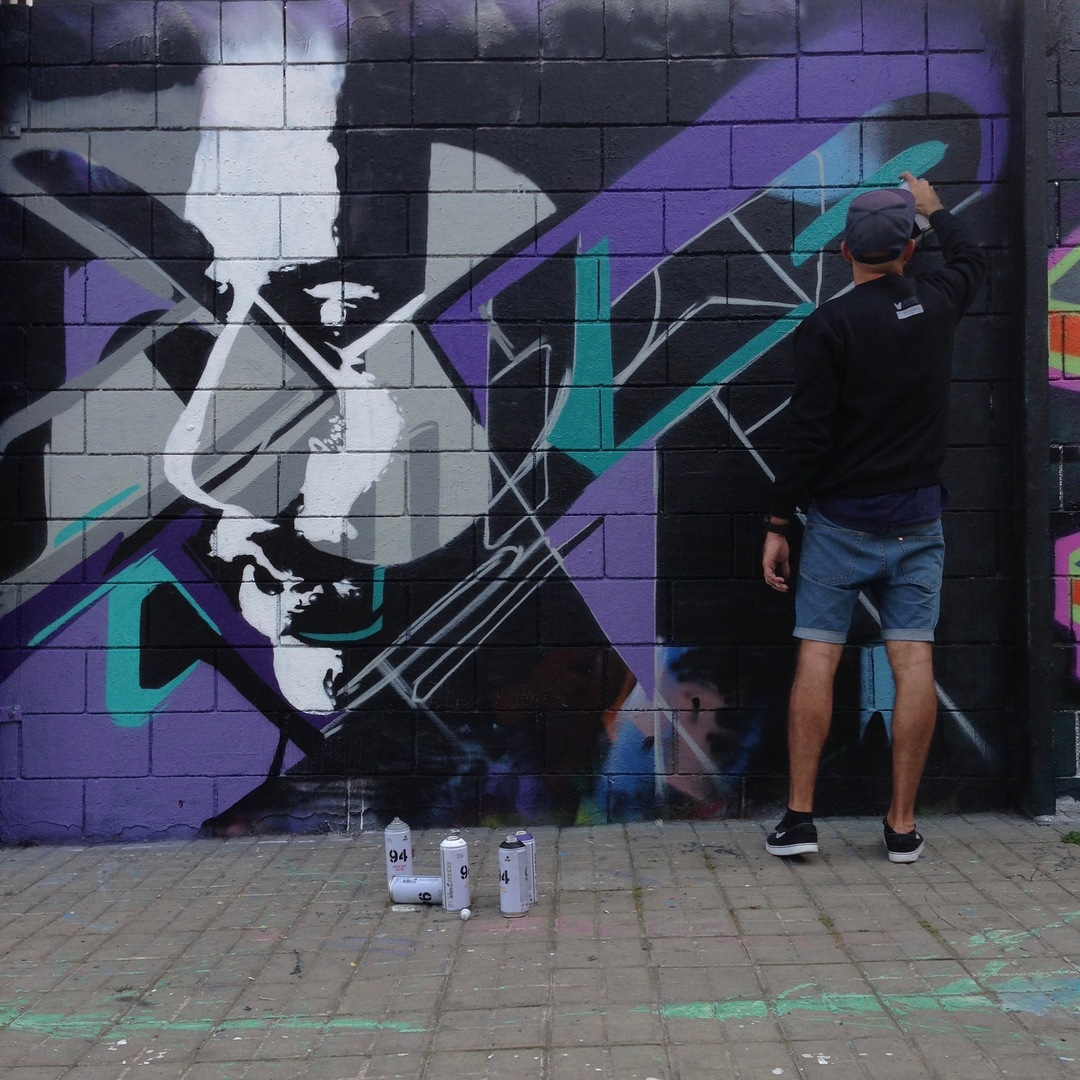 Wallspot - SKRAN - Drassanes - SKRAN - Barcelona - Drassanes - Graffity - Legal Walls - Others