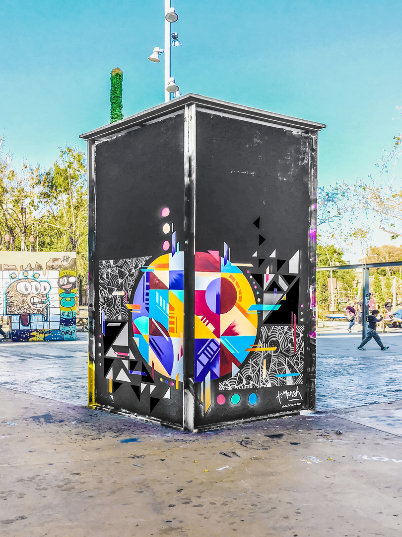 Wallspot - TimMarsh -  - Barcelona - Tres Xemeneies - Graffity - Legal Walls -