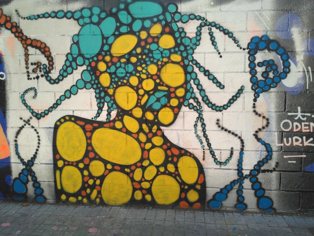 Wallspot - evalop - evalop - Proyecto 29/04/2017 - Barcelona - Poble Nou - Graffity - Legal Walls - Il·lustració - Artist - DALA @daliladuartedrd