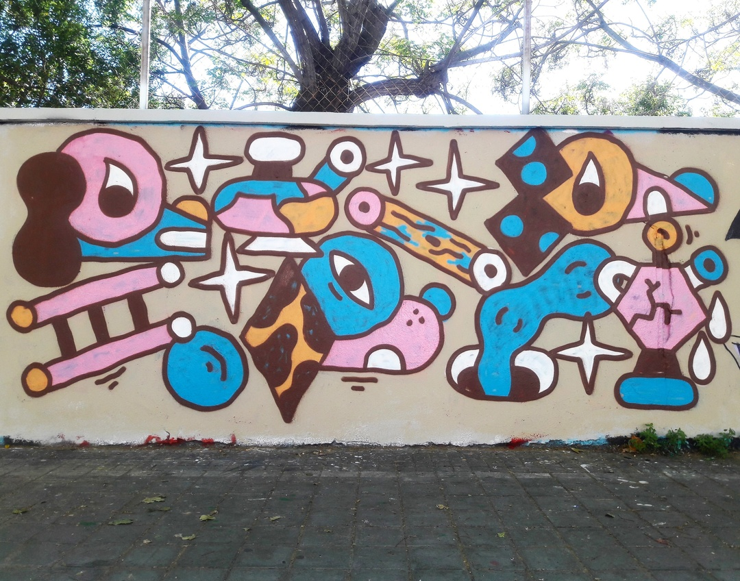 Wallspot - Osier Luther -  - Barcelona - Forum beach - Graffity - Legal Walls -