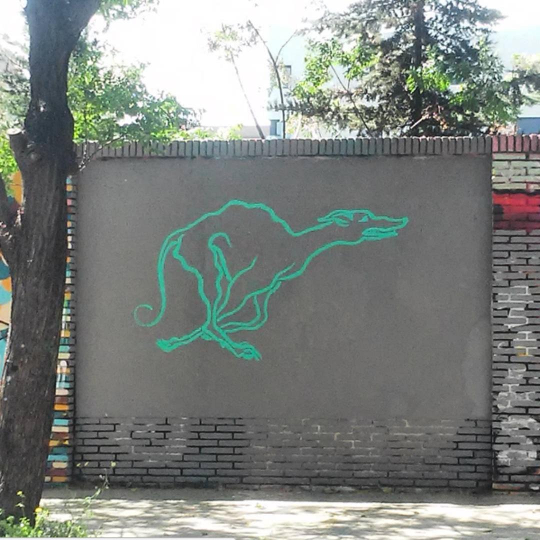 Wallspot - Mateu Targa - Selva de Mar - Mateu Targa - Barcelona - Selva de Mar - Graffity - Legal Walls - Il·lustració