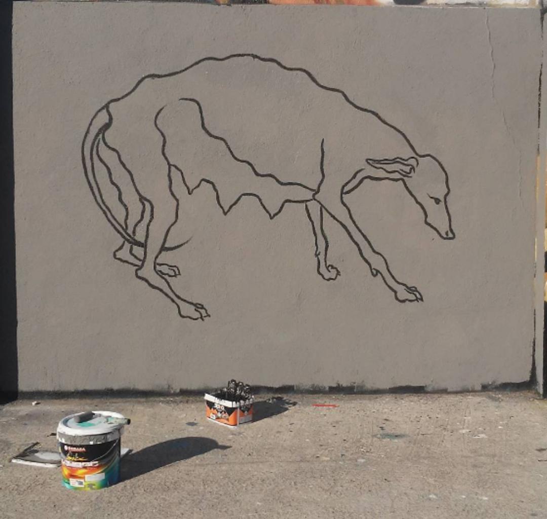 Wallspot - Mateu Targa - Agricultura - Mateu Targa - Barcelona - Agricultura - Graffity - Legal Walls - Il·lustració