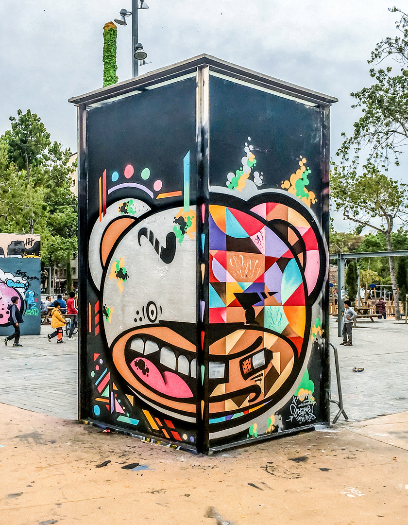Wallspot - TimMarsh -  - Barcelona - Tres Xemeneies - Graffity - Legal Walls -