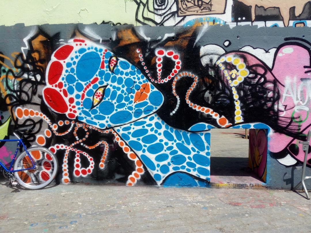 Wallspot - DALA @daliladuartedrd -  - Barcelona - Tres Xemeneies - Graffity - Legal Walls -